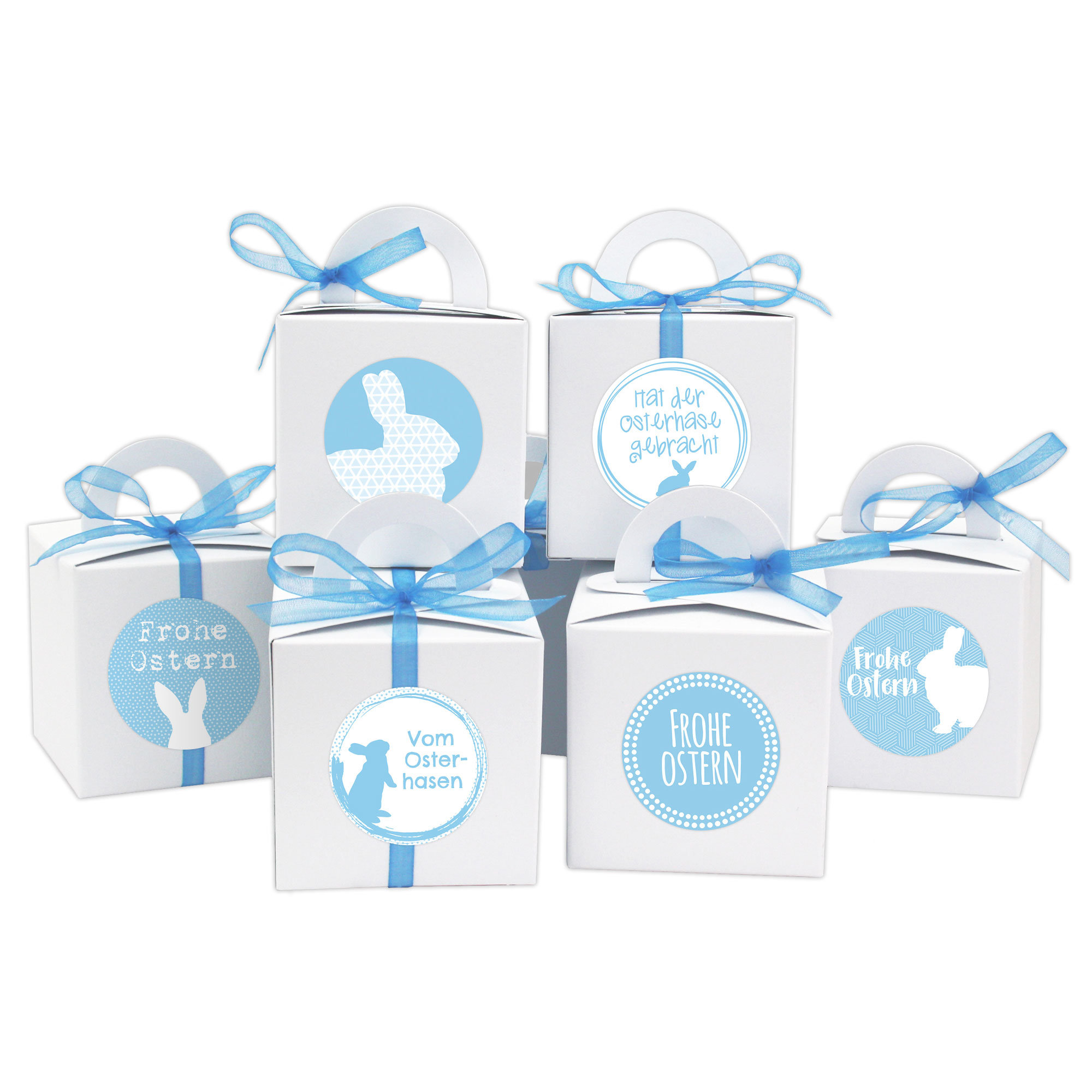 diy osterhasen kisten wei e geschenkboxen zu ostern geschenkverpackung zum bef llen f r. Black Bedroom Furniture Sets. Home Design Ideas
