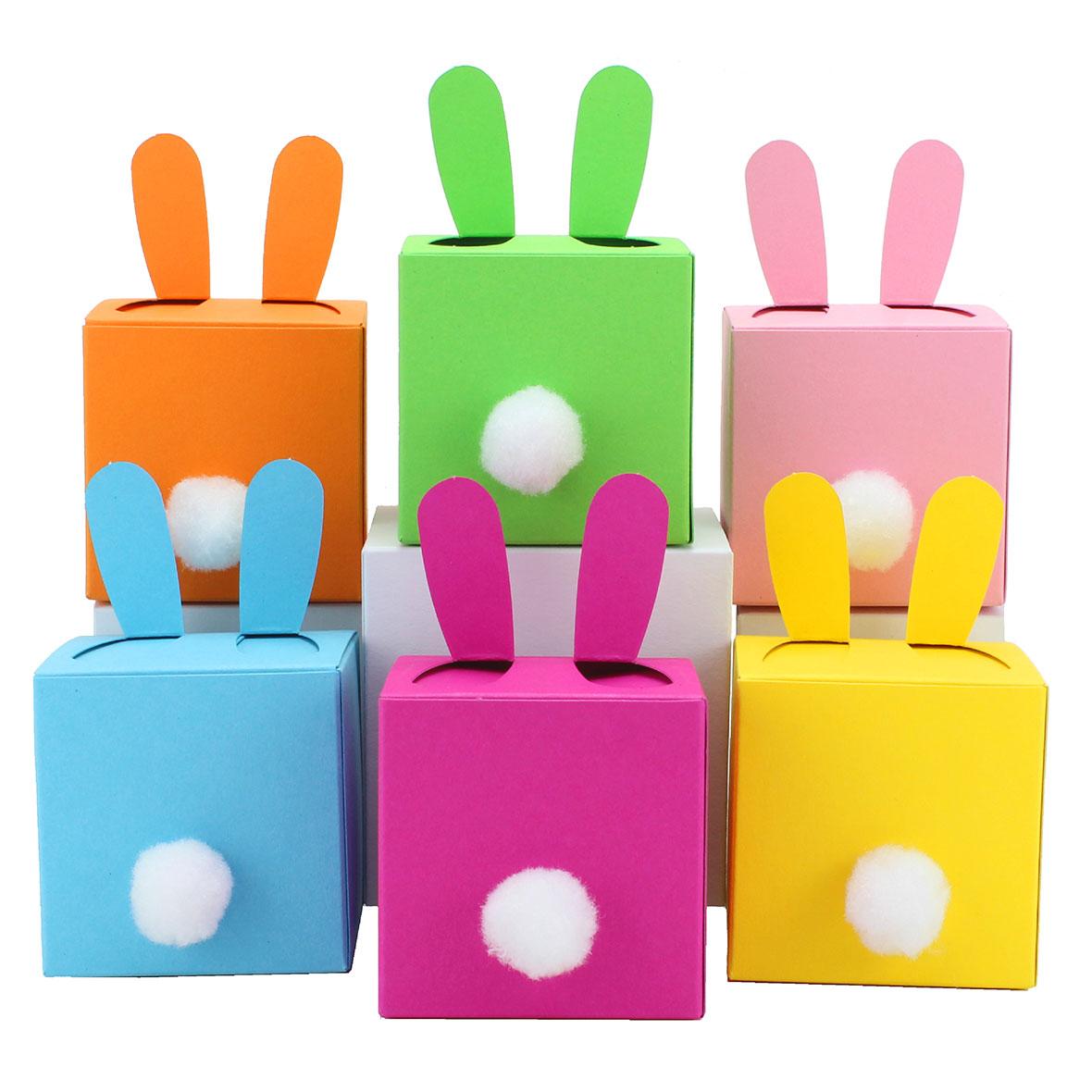 diy osterhasen kisten zum selber bef llen 6 bunte boxen i schachteln papierdrachen. Black Bedroom Furniture Sets. Home Design Ideas