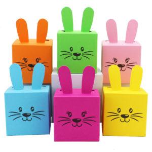Osterhasen Kisten zum selber Befüllen zu Ostern