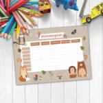 230-002-012-3-WW-Waldtiere-Schule-Stundenplaene-Stundenplan