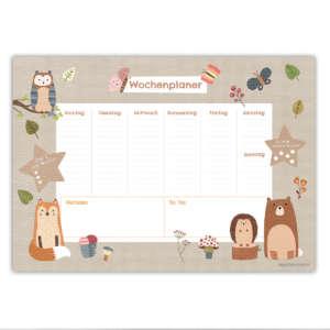 240-001-012-1-WP-Schreibtunterlage-Wochenuebersicht-Kinder-Waldtiere.jpg