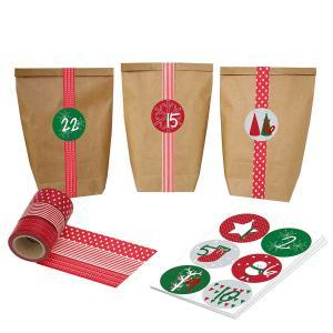 adventskalender washi tape sets von papierdrachen. Black Bedroom Furniture Sets. Home Design Ideas
