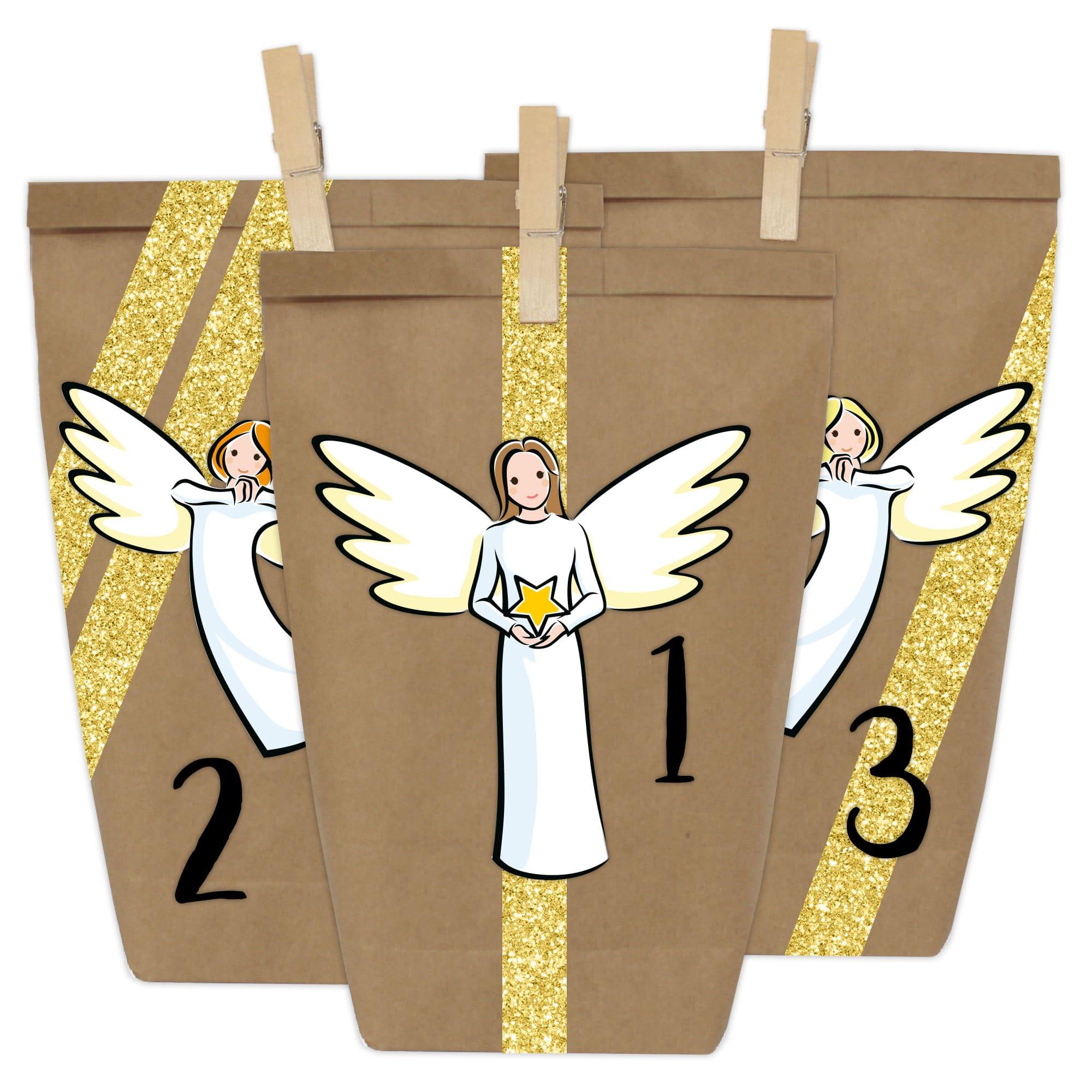 400 065 004 1 Adventskalender Online Tuten Engel Kinder Selbermachen