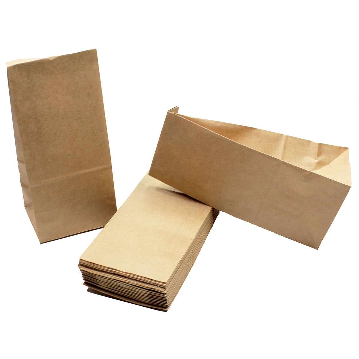 50 papiert ten braun in gr e 19x8x6 5 cm aus kraftpapier ideal zum bef llen f r. Black Bedroom Furniture Sets. Home Design Ideas