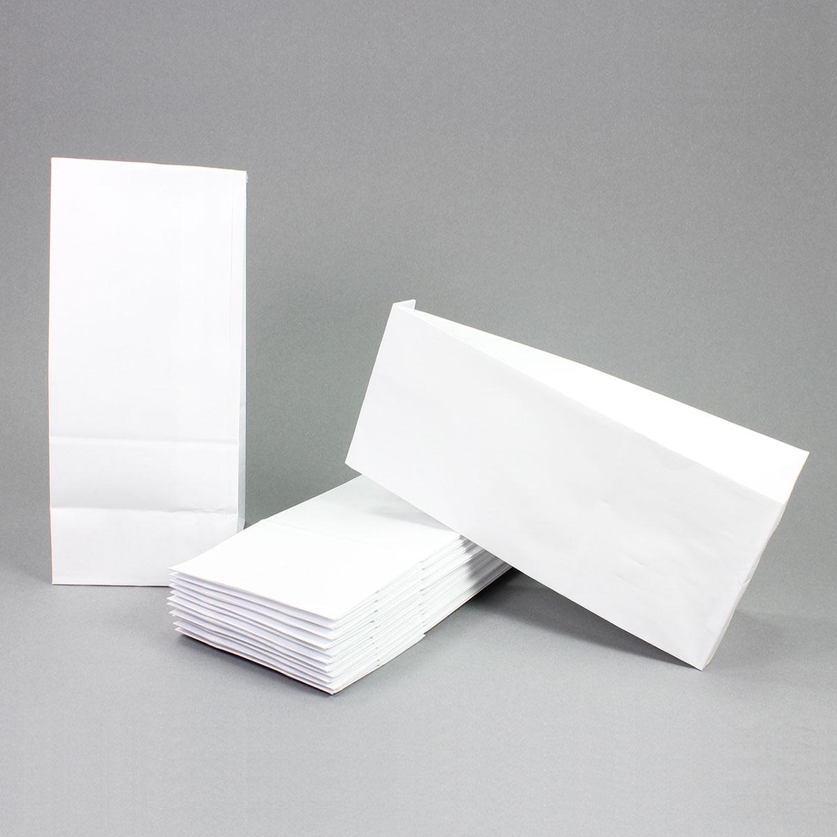 50 papiert ten wei in gr e 26x10x7 cm aus kraftpapier ideal zum bef llen f r adventskalender. Black Bedroom Furniture Sets. Home Design Ideas