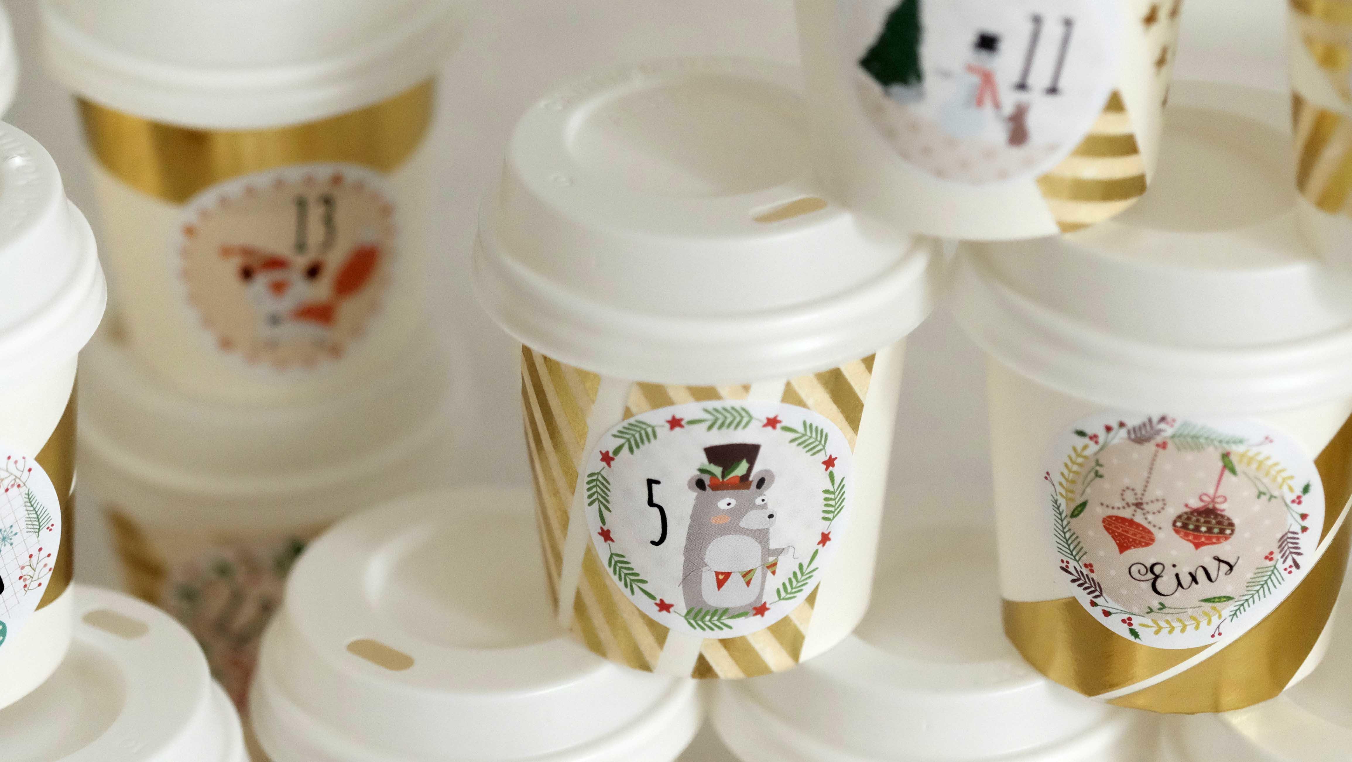Adventskalender Für Kaffee Liebhaber Papierdrachen