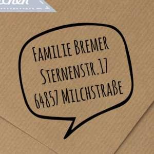 Individueller-runder-Holz-Adressstempel-mit-Sprechblasen-Motiv-personalisierter-Stempel-mit-Namen-Adresse-B01CMIFG24.jpg